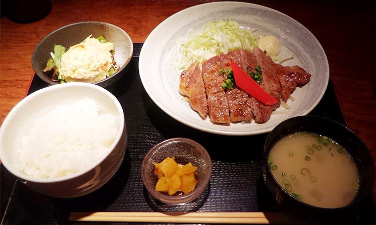 もち豚ロースの生姜焼き(1,000円)