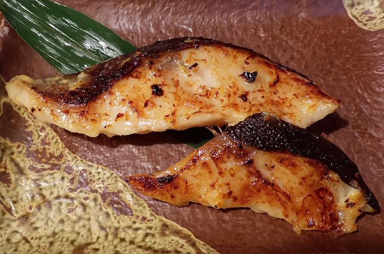 銀鱈の西京漬け定食(1,100円)