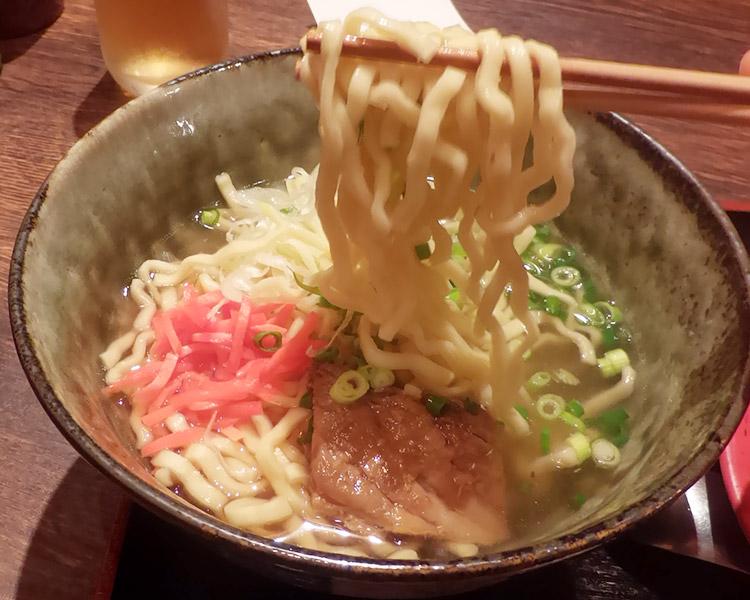 ソーキそば&ミニラフテー丼(980円)