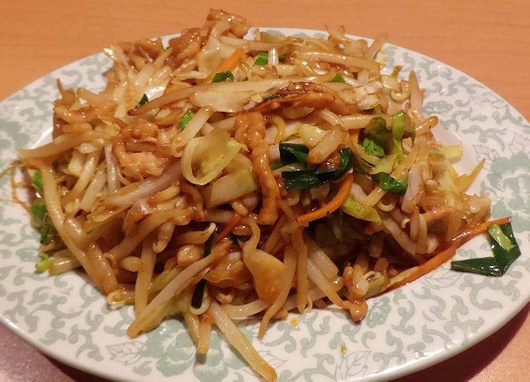 肉入り五目野菜炒め(950円)