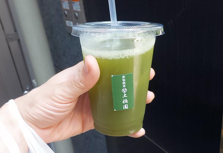 めっちゃ濃い緑茶(170円)