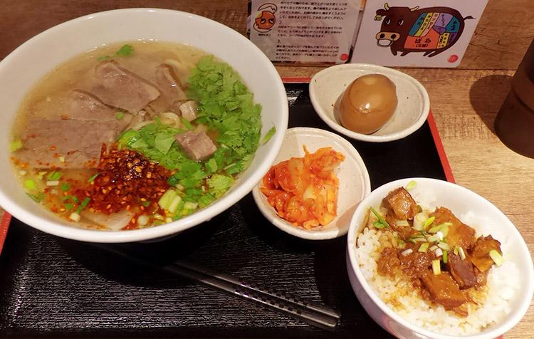 蘭州満腹セット(10,80円)