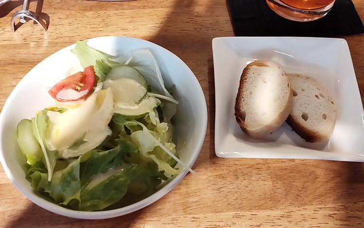 小エビと冬瓜と小松菜のトマトクリーム スパゲッティーニ(1,000円) & 1.5盛(200円)