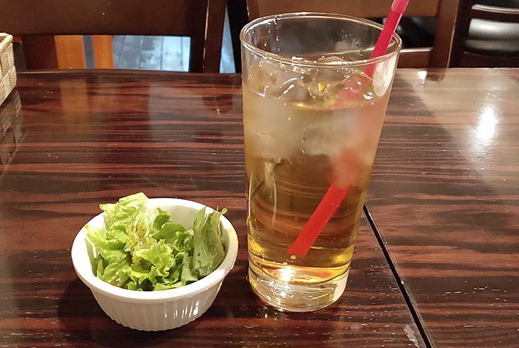 ローストビーフ丼(650円) & ミニカレー(150円)