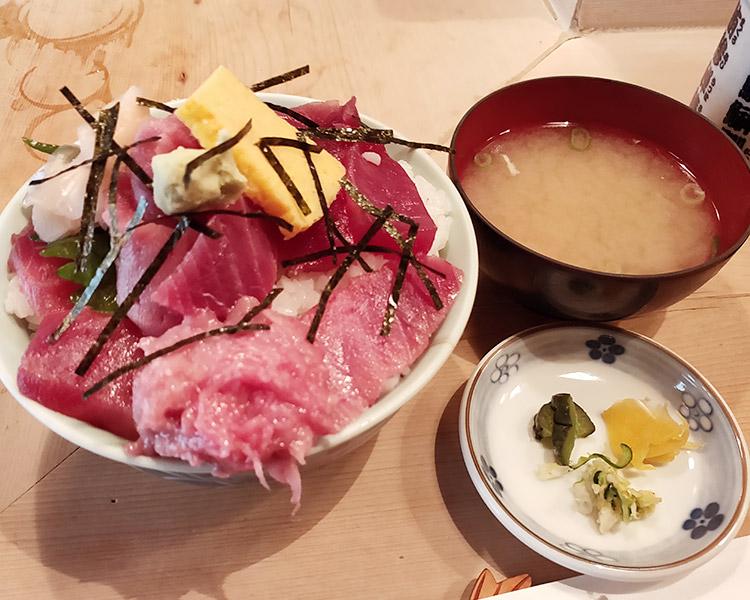 鉄火丼(1,100円)